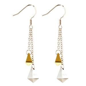 tungsten-gold-earring