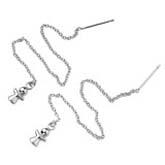 鎢金耳環110