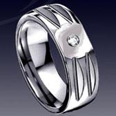 鎢金戒指11