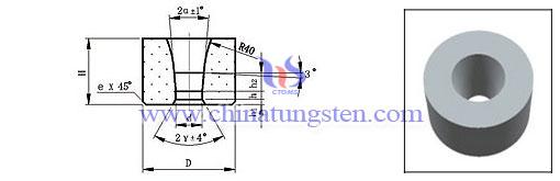 黑色金屬管材鎢鋼拉伸模