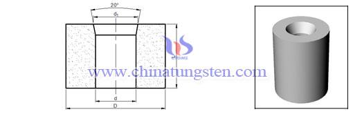 鎢鋼標准螺栓縮徑模具