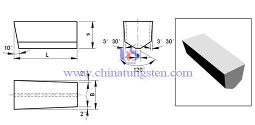 鎢鋼螺紋、切斷刀片